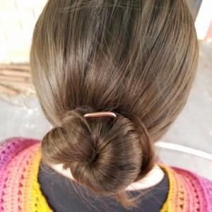 Minimal style Hair pins/forks