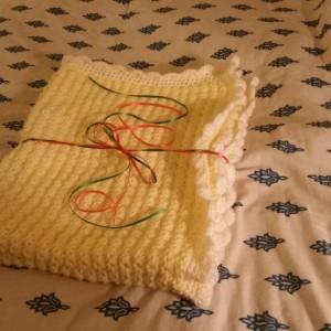 Crochet Unisex Baby Blanket,