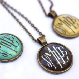 Smile Handmade Pendant Necklace