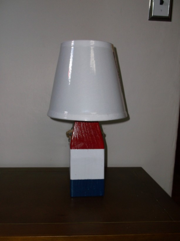 2 Lobster Buoy Lamps Made in USA!