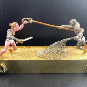 Spartacus 54/mm Gladitorial school Death match