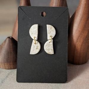 Beautiful Boho Earrings: Modern and Lightweight earrings | Geometrical Earrings | Fimo Earrings Boho bridal earrings