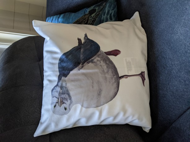 Seagull 2 Throw Pillow