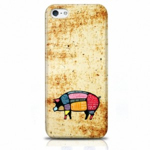 Rusty Pig iPhone Case