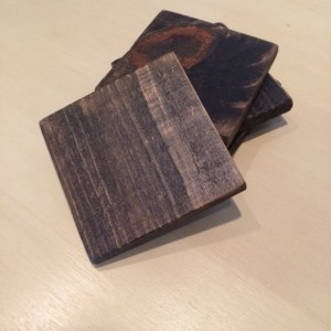 Dark Wooden Coasters