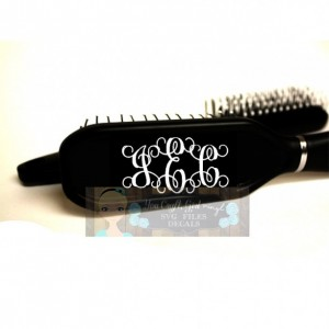 Monogrammed Personalized Name Hairbrush - Gift for Girl - Back to School - Hairbrush - Personalized Brush - Initial Hairbrush - Teen Gift
