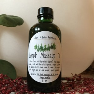 Lymph Massage Oil