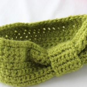 2-5 year old Girls Crochet Headband Ear Warmer