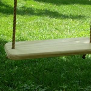 Wood Tree Swing/Rope