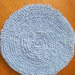 Handmade t-shirt cotton rug