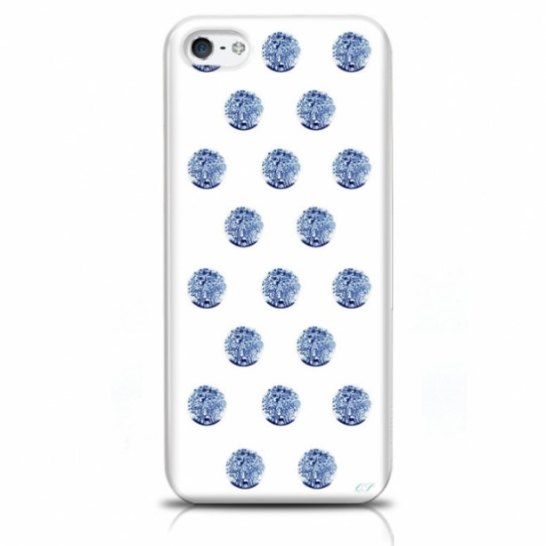 Polka Dot Deer iPhone Case
