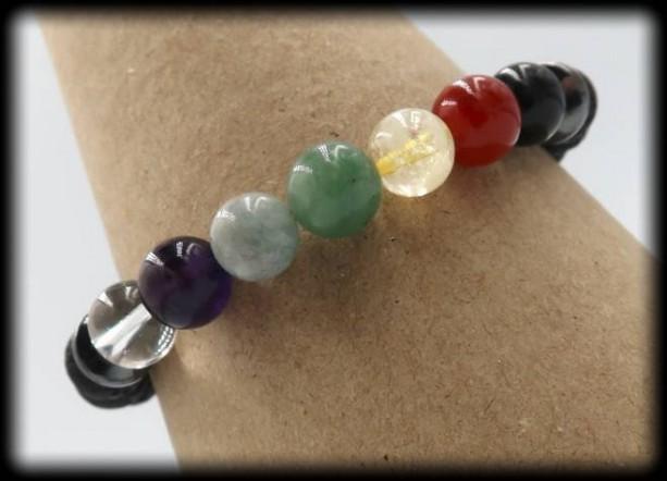 Diffuser Chakra Healing Bracelet