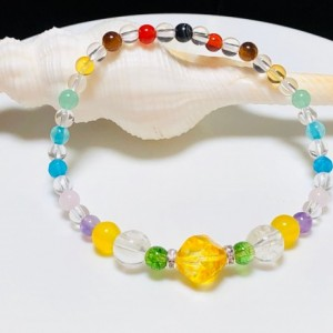 Good Luck - Good Health - Good Wealth  Bracelet  | Well-Being,  Prosperity, Success, Protection, Opportunity, Energy, Motivation