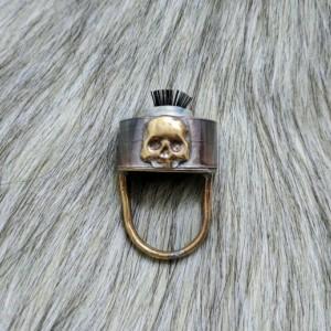 Wasteland Baby Skull Ring