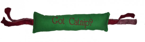 "KittyKicker ""Got Catnip?"" 11 inches Long 100% Organic USA Catnip Cat Toy"