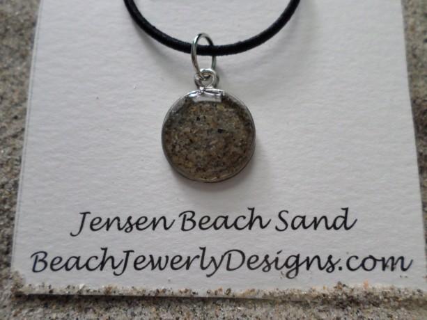 Jensen Beach sand necklace