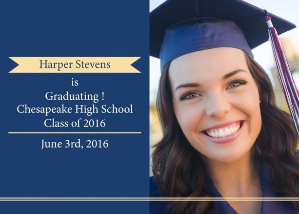 Customizeable Graduation Announcement