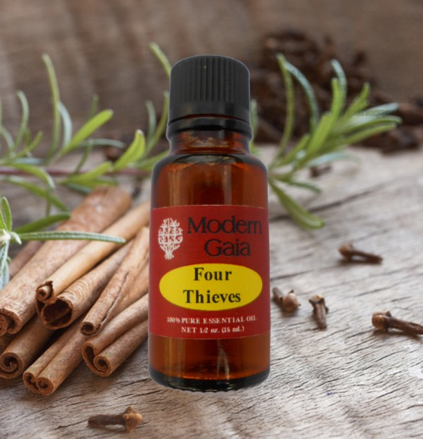 Four Thieves Essential Oil Blend - 15 mL - Buy Any 3 Items, Get 1 Free