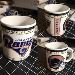 Custom Made Los Angeles Rams 11oz Coffee Mug