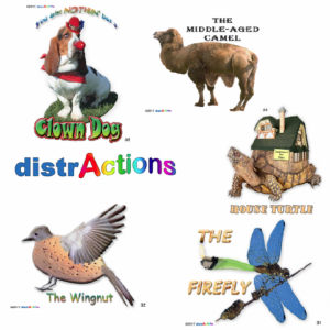 distrActions, set 2