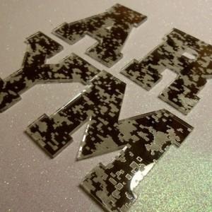 collegiate letters,Varsity letters,laser cut letters,