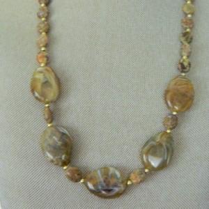 Dark Agate necklace