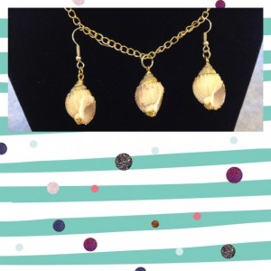 Shell Jewelry Set