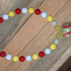 Softball necklace