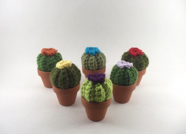 2 for 15, mini barrel cactus, amigurumi cacti, barrel cactus, cacti, pincushion, fake cacti, crochet cactus, crochet barrel cactus, kawaii,