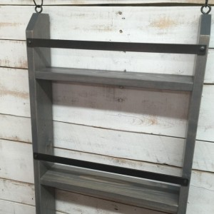 ... Bathroom Ladder Shelf, Rustic Bathroom Shelf, Industrial Shelf,  Farmhouse Shelf, Cottage Chic ...