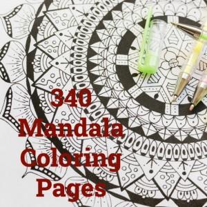 340 Mandala Coloring Pages