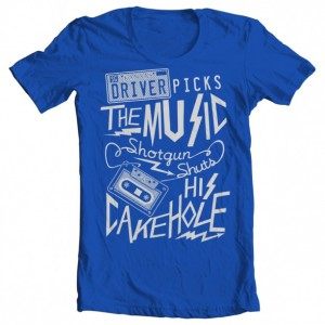 "Supernatural ""Driver Picks the Music"" Boys' Tee"