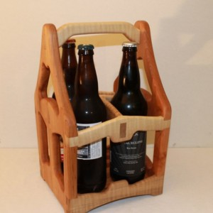Hand crafted Bomber sized  Beer Tote 22oz
