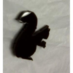 Squirrel charms, animal charms,laser cut charms,kawaii