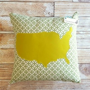 Personalized Country Cushion