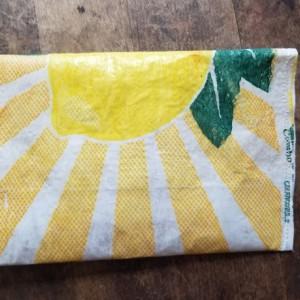 Lemon pouch