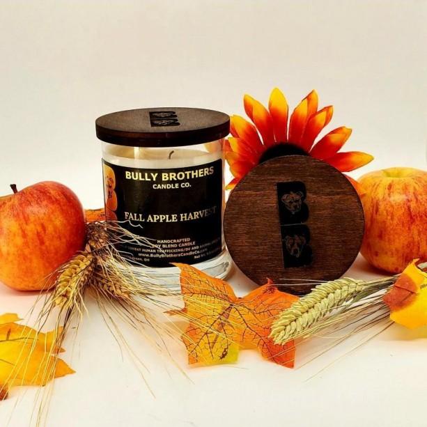 Fall Apple Harvest - Candle 9 oz jar