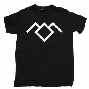 Twin Peaks Men's T Shirt, Owl Cave Symbol Ghostwood Forest White Black Lodge Red Room Agent Dale Cooper Unisex Cotton Tee Shirt