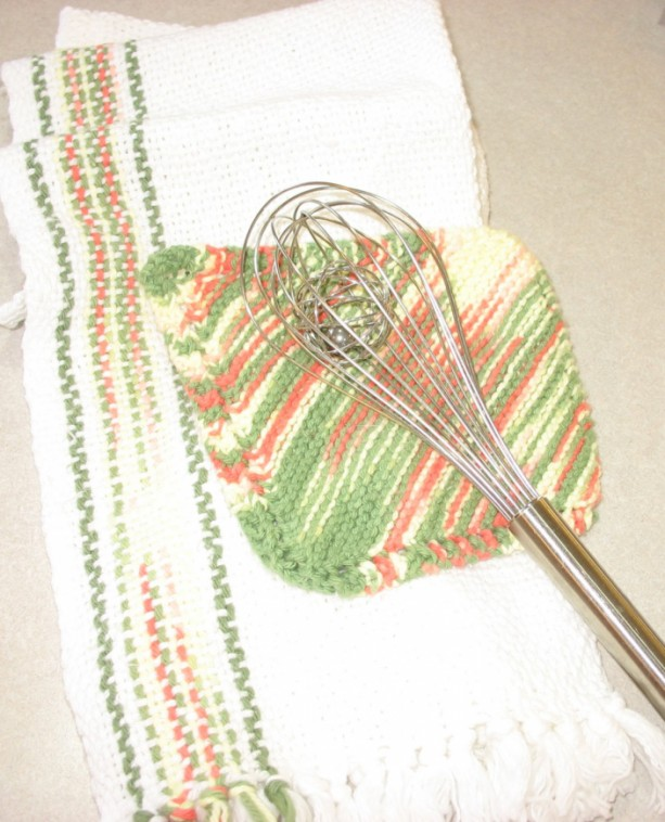 Over size handwoven dish towel | aftcra