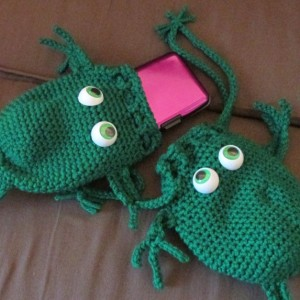 Frog Fun Pouch