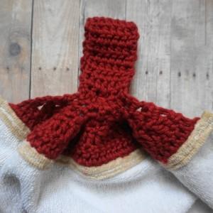 Brewing Coffee Crochet Top Towel
