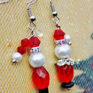 Santa Clause Earrings