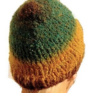 Autumn Colored Knit Hat, Adult