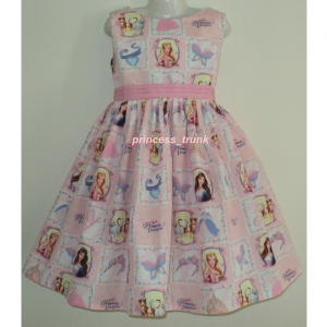 NEW Handmade VHTF Barbie Princess And The Pauper Anneliese Patchworks Dress Custom Sz 12M-14Yrs