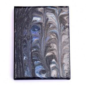 Falling Night Sky - Small Resin Painting