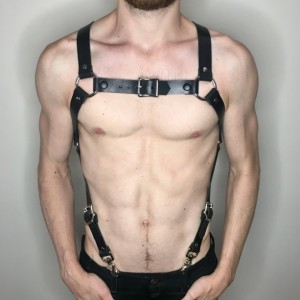 X Back Harness Suspenders
