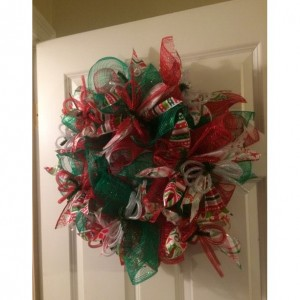 decorative Christmas wreath!