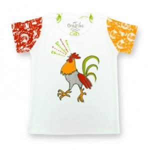 Singing Rooster children's t-shirt