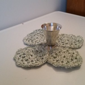 Cotton Coasters.
