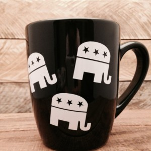 GOP Republican Elephants Mug